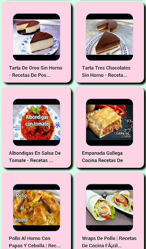 Easy Cooking Recipes  screenshots 3