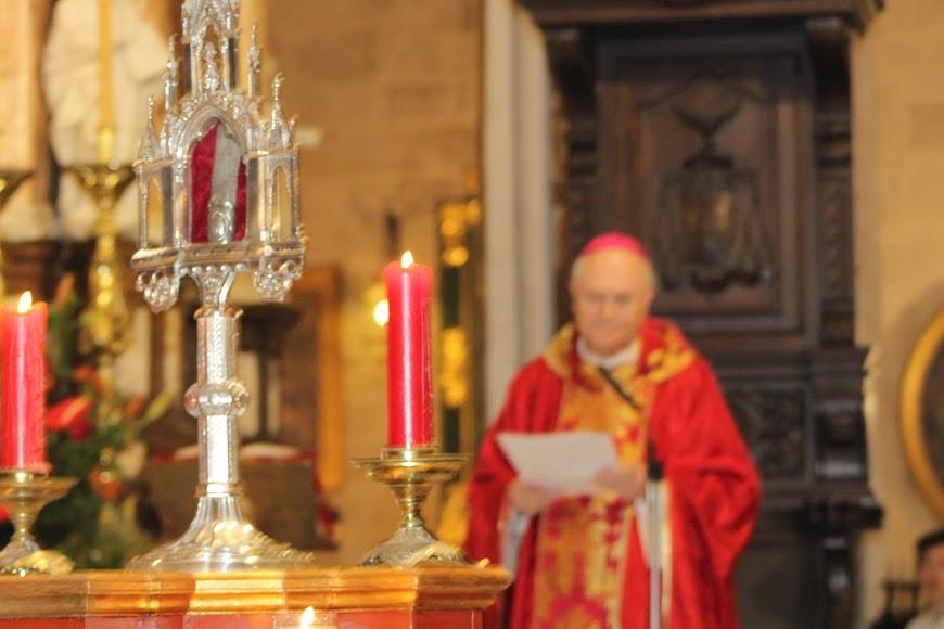 El obispo, Adolfo González Montes, presidió la celebración eucarística.