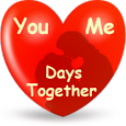 Days together widget wallpaper apk