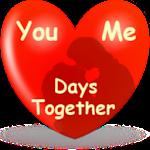 Days together widget wallpaper Icon