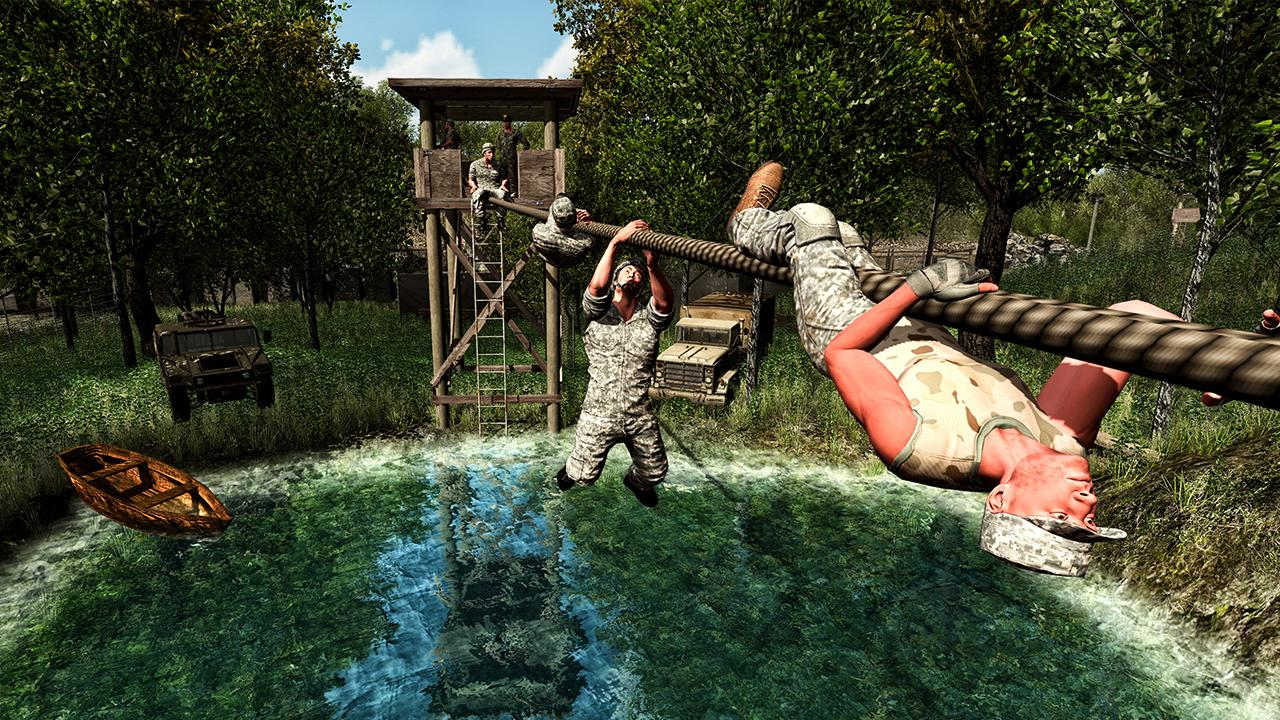 Survival military training android apps on google play for Survival fishing games
