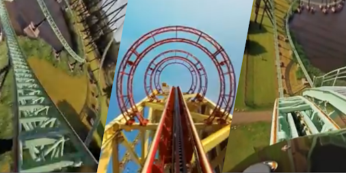 VR Thrills: Roller Coaster 360 (Google Cardboard) APK screenshot thumbnail 12