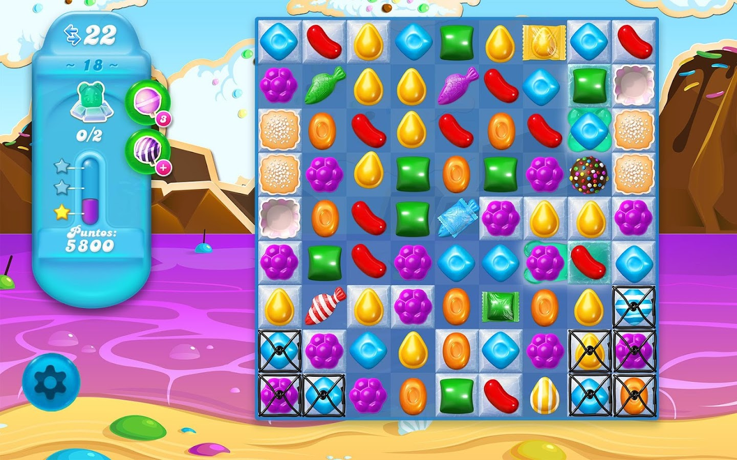 Candy Crush Soda Saga: captura de pantalla