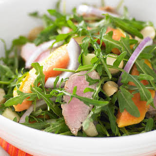 Pork, Papaya and Macadamia Salad.