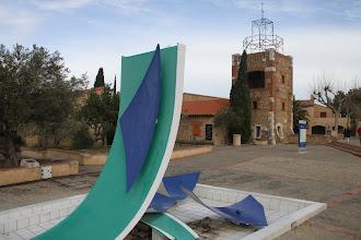 """Photo: """"Le village catalan"""", une aire sur l'autoroute pour la Costa Brava ..."""