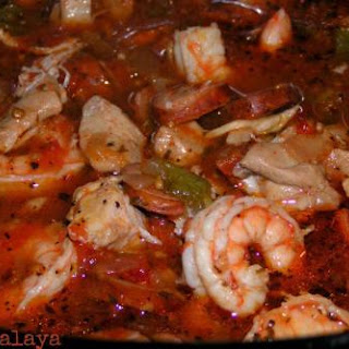 Crock Pot Jambalaya.