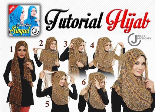 Tutorial Hijab Step by Step