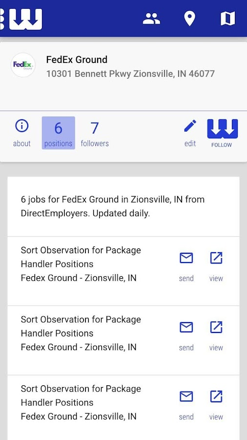 WorkHere- screenshot