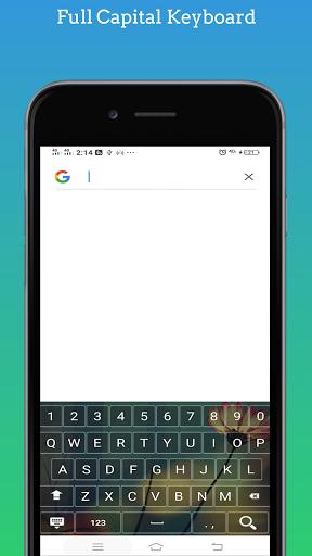 Capital Keyboard app screenshot 6