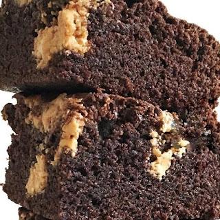 Peanut Butter Brownies.