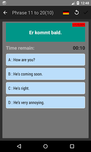 Screenshot for Common English Phrases - Learn English in Hong Kong Play Store