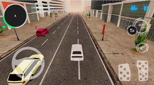 Şehirde Araba Sürme Simülatörü  άμαξα προς μίσθωση screenshots 1