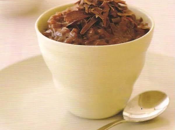 Chocolate Rice Pudding Recipe