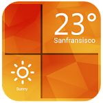 Orange Clock Weather Widget 4.8.3_release Apk