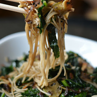 Sesame Kale Noodles (Under 30 Minutes – Vegan Too!)