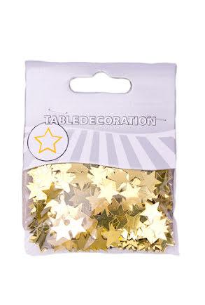 Konfetti stjärnor, guld