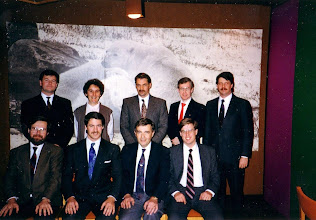 Photo: Standing - Paul Seguin,, Gemma kerr, Robert Kilpatrick, Chris Frauley, ?  Seated - Dave Eastwood, Ross McIntyre, Neil Armstrong, Pierre DeGagne