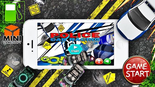 子供のための警察の車のゲーム