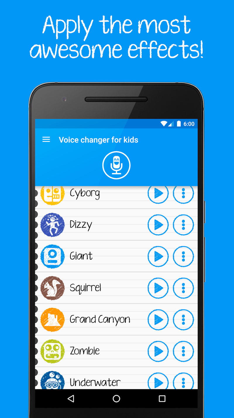 Voice changer for kids and families Screenshot 2