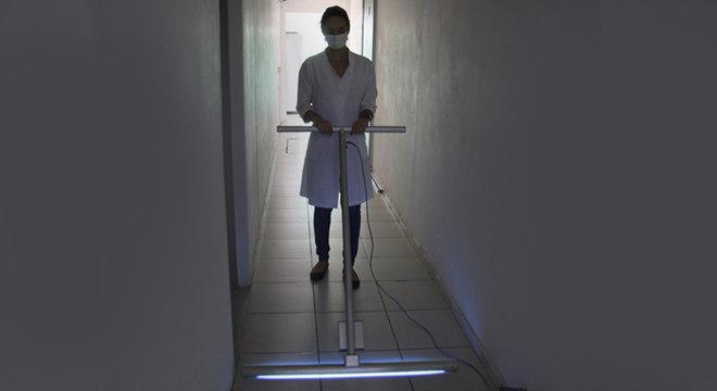 Rodo UV. Foto: Assessoria de Comunicação do IFSC - Rui Sintra