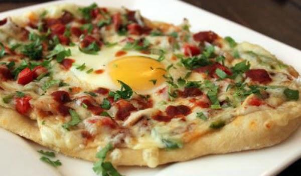 Potato Pizza For Breakfast Recipe