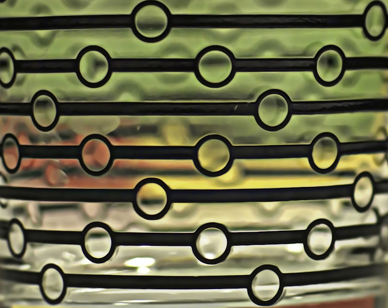 Traffic light around the glass di Mulligan