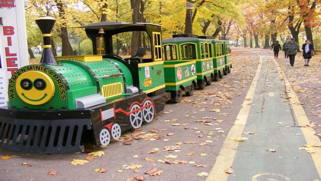 Children Train in Herastrau Park