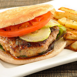 Grilled Turkey Burgers with Thai Flavors