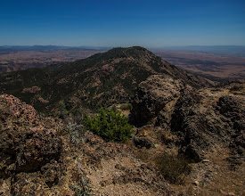 Photo: A closer view of South Chalone Peak, which we decided to skip given the oppressive heat. A 1.6 mile trek from North Chalone Peak will get you there if you're really in the mood.