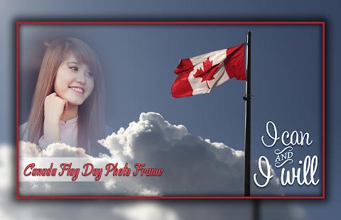 Canada Flag Day Photo Editor - náhled