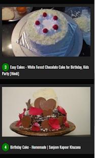 Birthday Cake Recipes in Hindi - náhled