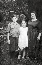 Photo: Leo, Edith, and Cecelia Bernstein Markheim