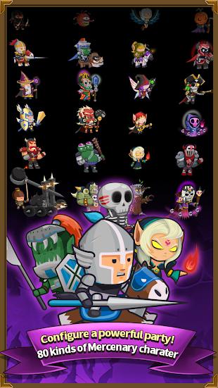 Infinity Mercs : Nonstop RPG- screenshot thumbnail