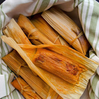 Red Chile Jackfruit Tamales