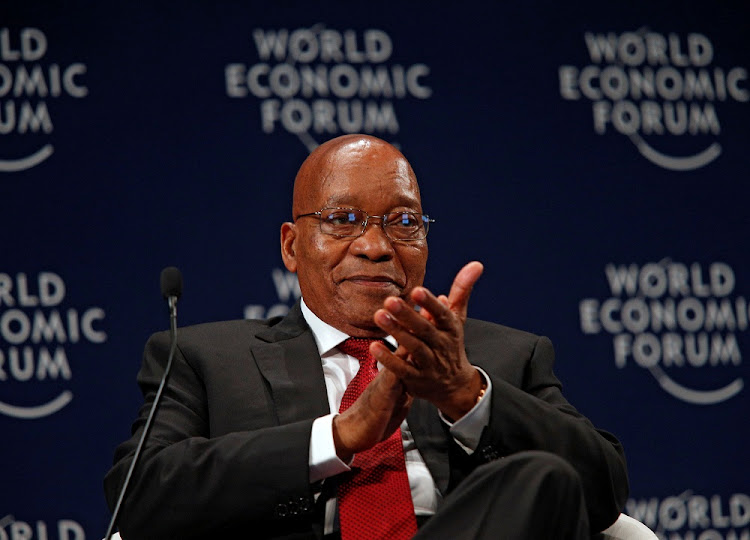 President Jacob Zuma. Picture: REUTERS/ROGAN WARD