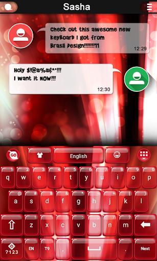 Red Hot keyboard
