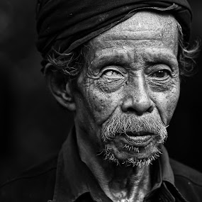 The Chieftain by Alamsyah Rauf - People Portraits of Men