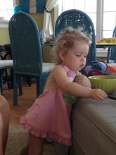 Photo: Little Adele eating animal crackers to her heart's content