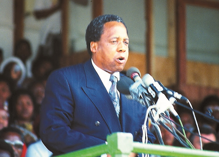 Chris Hani. File picture: DAILY DISPATCH