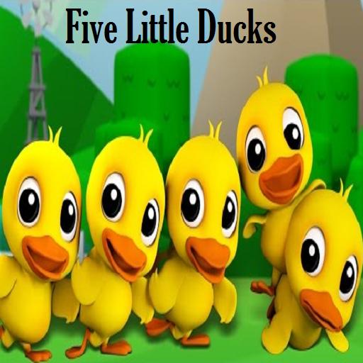 Five Little Ducks Kids Poem
