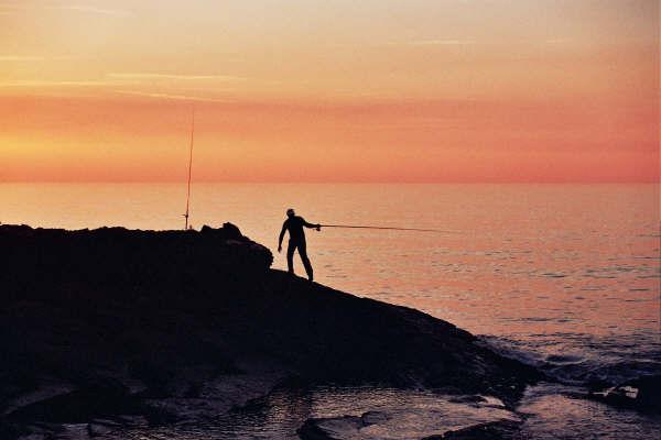 Pescare al tramonto di Magda Guglielmo