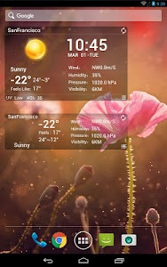 desktop weather clock widget screenshot 7