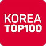 Korea Top 100 Icon