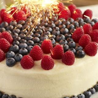 Superstar Blueberry and Raspberry Lemon Cake