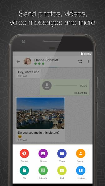 Threema Screenshot Image