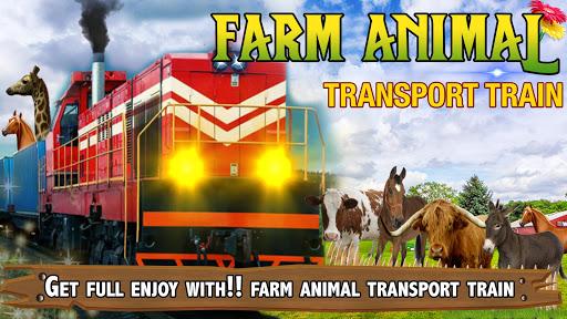 Farm Animals Transport Train