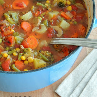 Loaded Vegetable Soup Recipe