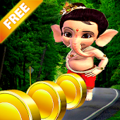 Bal Ganesha Run Motu Jump Game