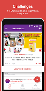 SHEROES Women's Growth Network- screenshot thumbnail