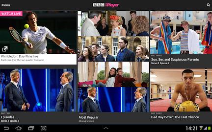 BBC iPlayer Screenshot 1